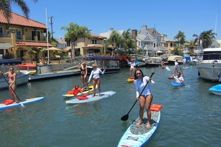 Paddle Board Retreat / Huntington Beach (Harbor) - Huntington Beach