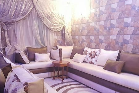 Apartment with Moroccan style close to the airport