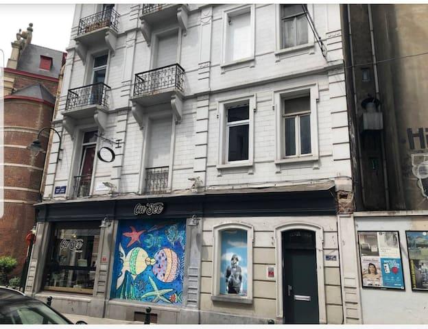 Appart2 au cœur de Bruxelles
