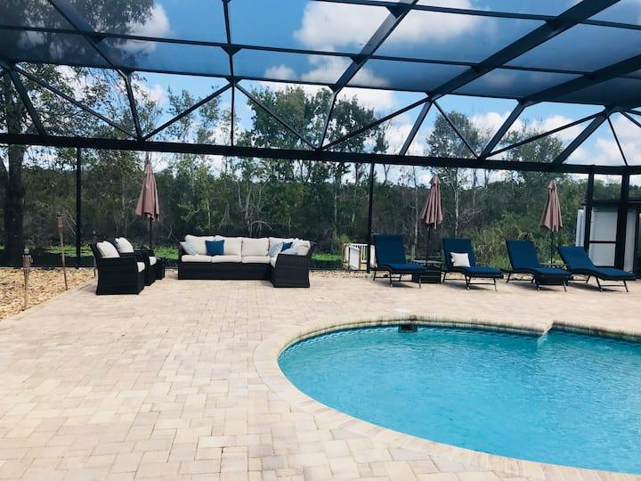 St. John's Luxury Pool Lake House