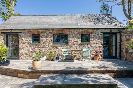 Beautiful original  stone barn on The Gower Coast