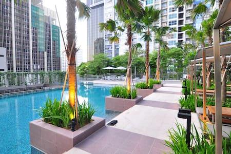 #AB Downtown High-End Condo near MRT +Housekeeping - Singapur - Ortak mülk