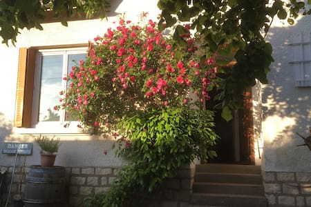 Chambre individuelle dans maison avec jardin - Dijon