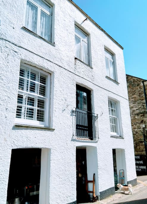 One of Mevagissey's most historic buildings, in the heart of the village