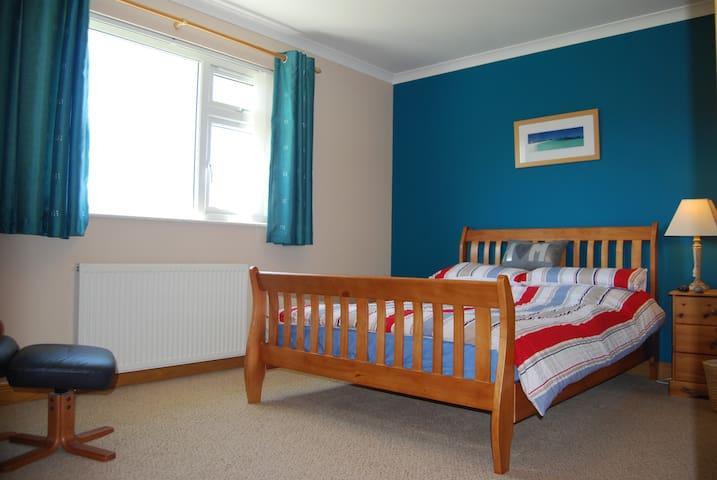 Cuillin View en suite double room 1 - Crossal - Oda + Kahvaltı