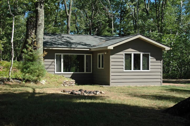 Spokn 4 ~ McCarry Lake ~ Iron River, Wisconsin - Hosted by North Country Vacation Rentals