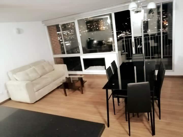 Apartamento familiar amoblado Zona Norte- Btá