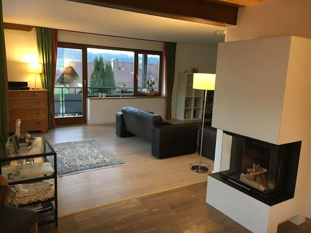 Allgäu, Komfortable 3-Zimmer-Wohnung im Landhaus