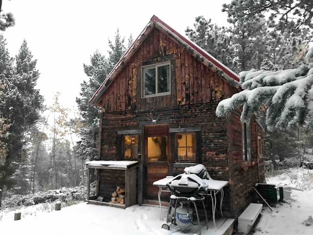 Total Seclusion: Off-grid cabin outside of Boulder