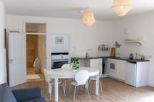 The cottage is well-equipped and ideal for a short break or longer stay