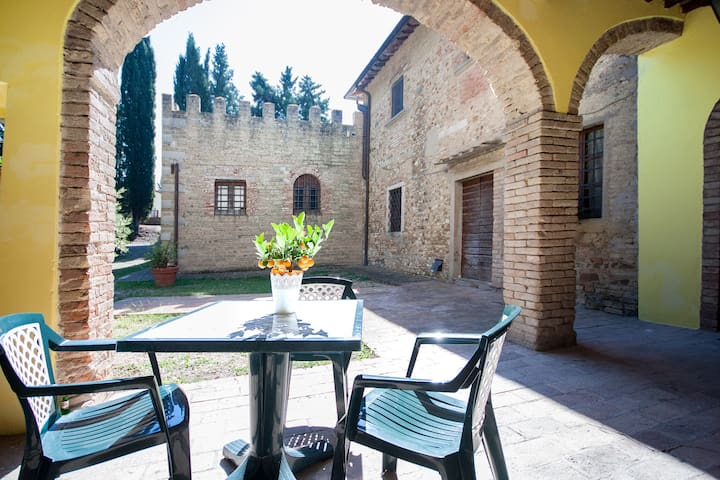 Apartment in Traditional Tuscany Farmhouse