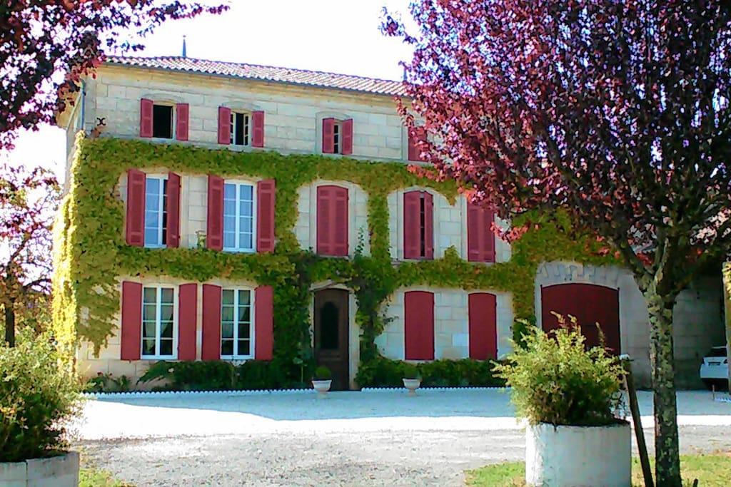 Chambres dans maison de charme houses for rent in for Chambre de charme france