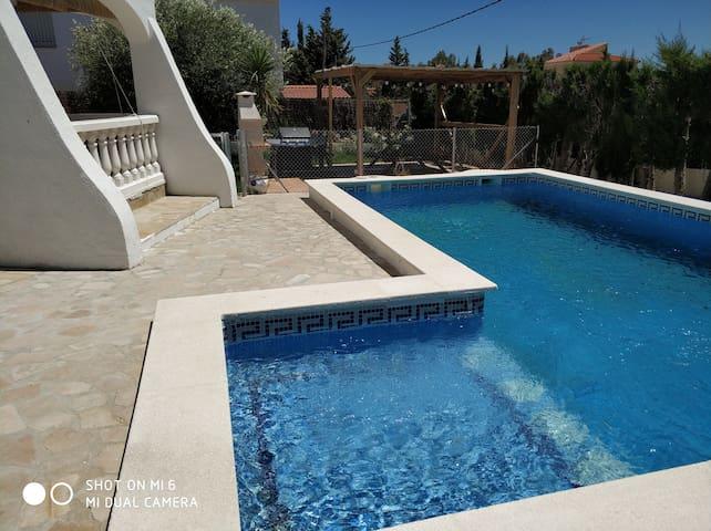 Preciosa casa estilo mediterránea.