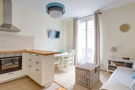 Lovely renewed 3-rooms, 10 mn Paris, cozy, quiet - Asnières-sur-Seine