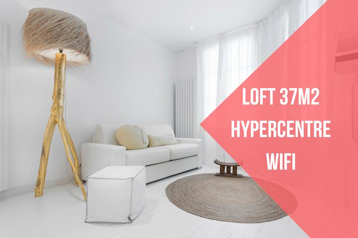LOFT 37m2 + CITY CENTER + WIFI - Toulouse - Byt