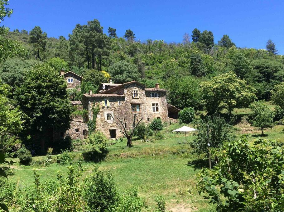 le hameau de la Mazière