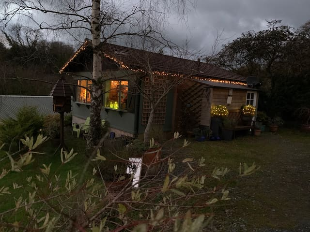 Cosy Chalet,  with easy access to Coast & Exmoor