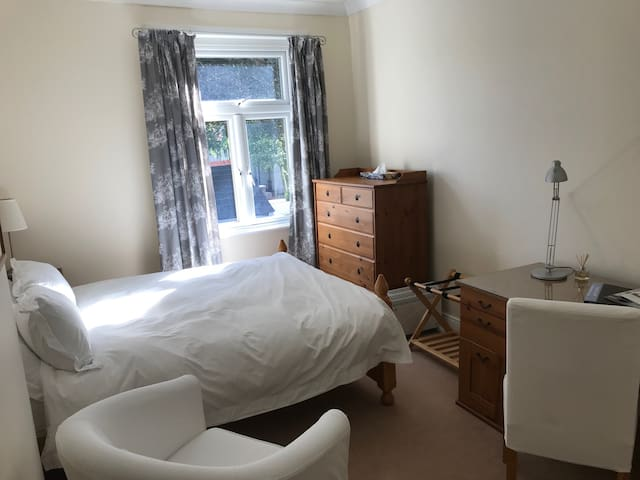 Double Room with private bath in cosy Pontcanna