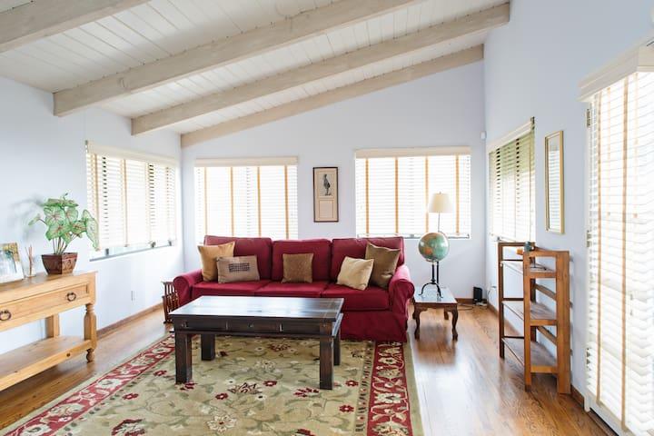 Bedroom with pullout queen sleeper