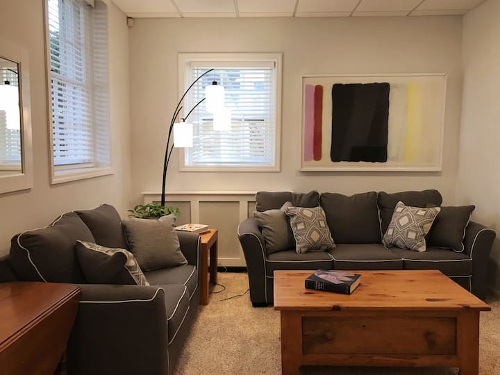NEW! Sunny 1 BD Apt in Classic Chevy Chase DC Home