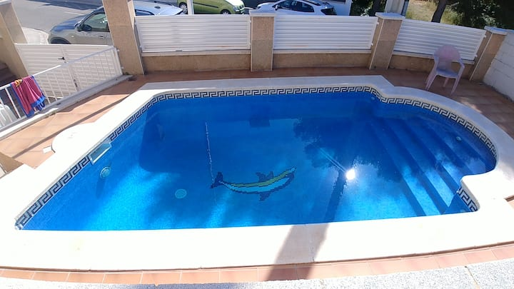 Piscina, bbq, quiet zone, relax  SEGUR DE CALAFELL