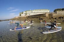 Baleia / Sul Beach. Activities: Yoga.