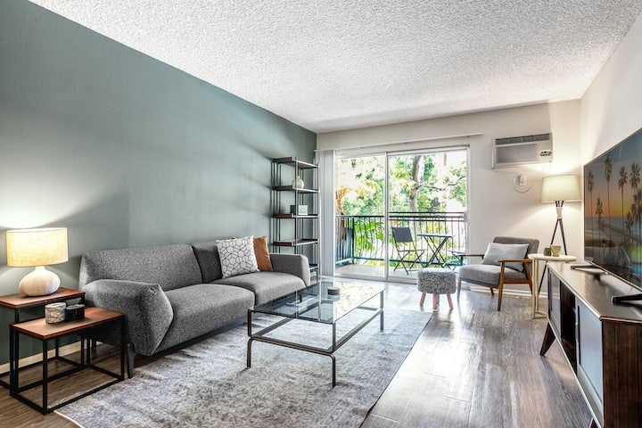 Airy Palms 1BR w/ Gym + Pool, Spa in quiet neighborhood by Blueground