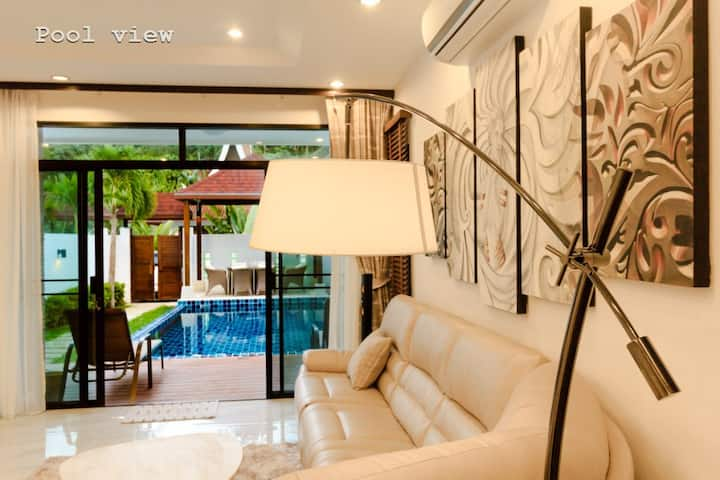 Modern AP Twin Pool Villa-3 bedroom- 220sqm