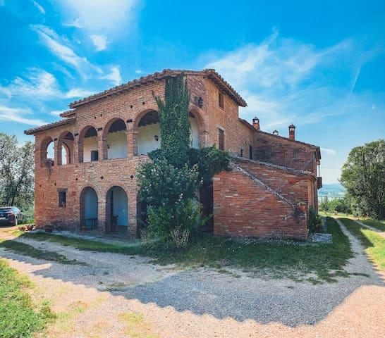 Il Macchione holiday home on Lake Montepulciano - La Scaletta