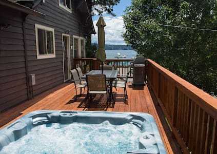Cottage with Hot Tub & Lake & Tubbs Hill Views - Ev