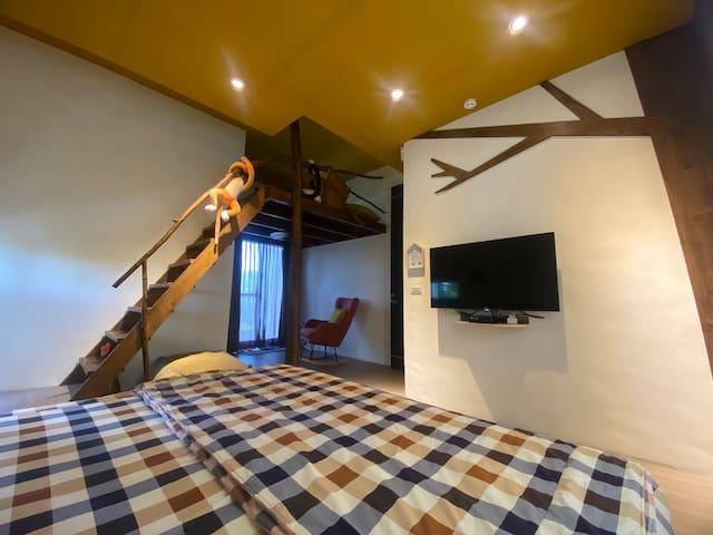 JH休閒民宿《木》2人套房~(北上宜蘭壯圍交流道2.5km)