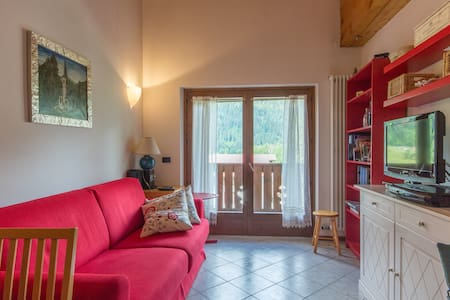 Cozy apartment with stunning view on Val Rendena