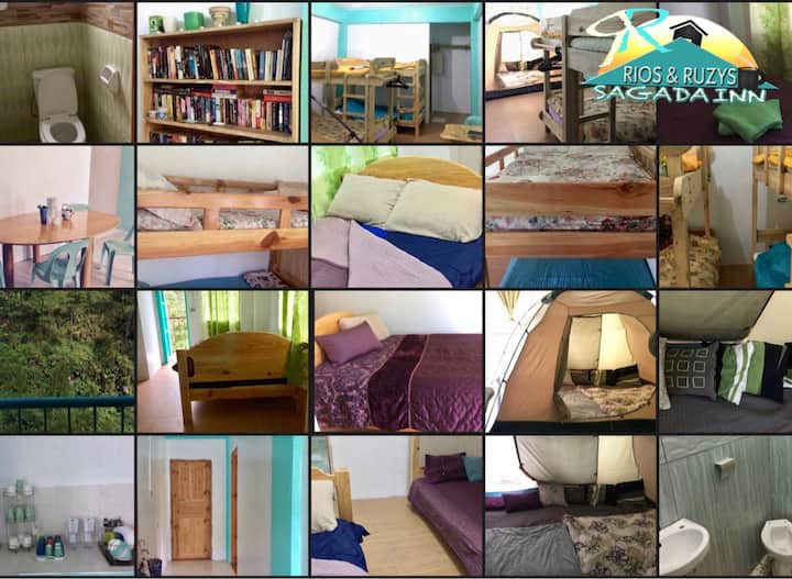 Rios & Ruzys  3 Bedroom Sagada Inn - Right Wing