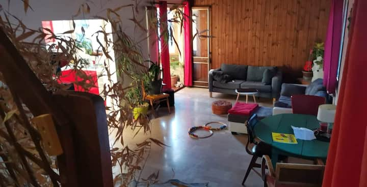 Appartement de confinement, loft atypique