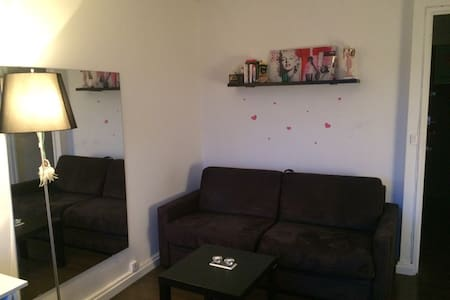Nice appartment with balcony, near Paris - Courbevoie