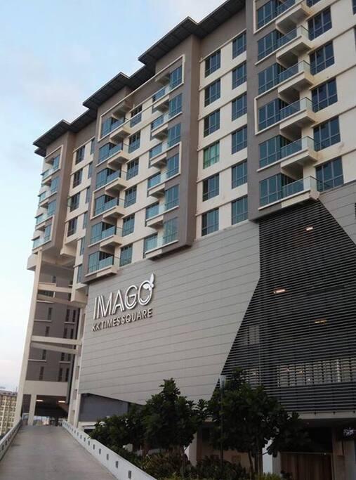 IMAGO shopping mall underneath the condo