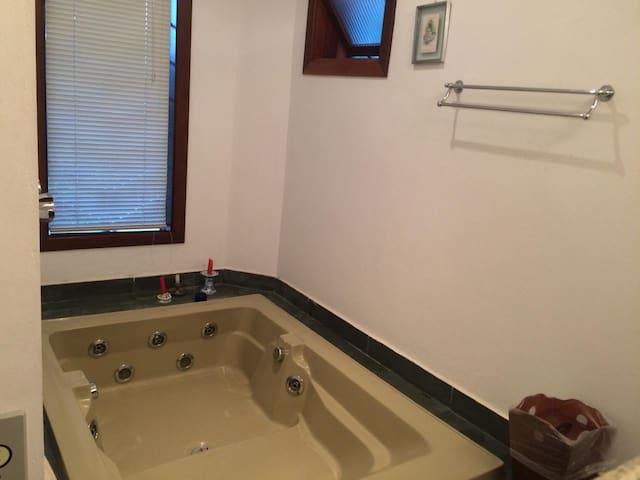 Jacuzzi e Banheiro Suíte#2