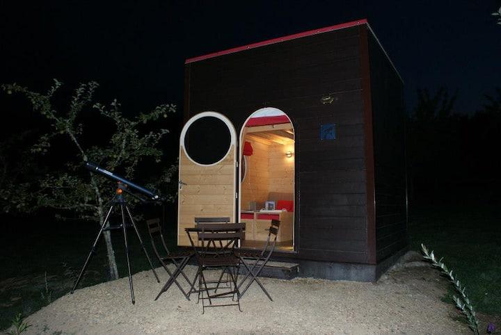 Nuit insolite en Carré d'étoiles près des Gorges
