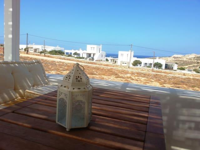 Beautiful SeaView Villa ONE in Parasporos, Paros - Parasporos - Haus