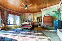 The gorgeous Tuscany master suite