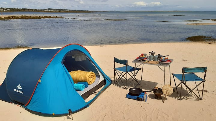 Rent-a-tent from OceanCamper (for a road trip)