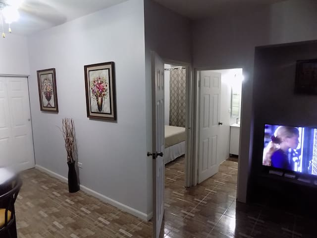 Just relax and enjoy the amenities! High speed internet (wifi and Lan) and digital Cable TV. Very private and centrally located