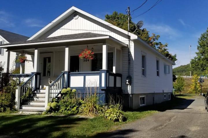 Maison pour vacances en famille à Carleton-sur-Mer