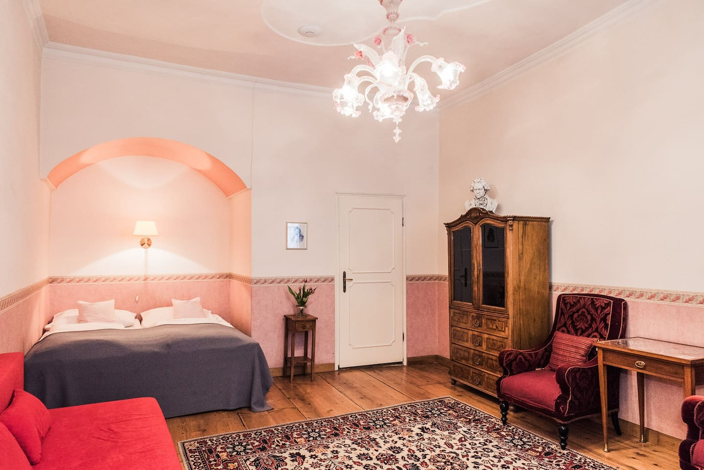 Sleeping and Living Room