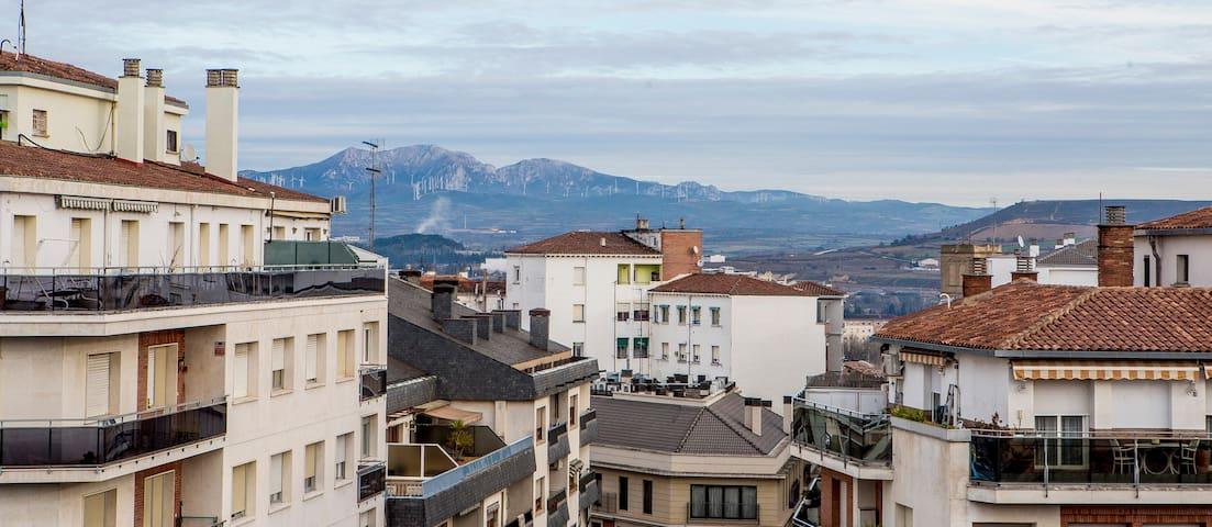 Ático Gran Via - Logroño - Apartament