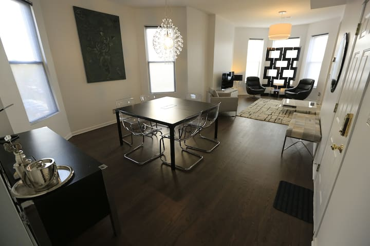 High end Wicker Park 2 BR flat, walk to blue line - Chicago