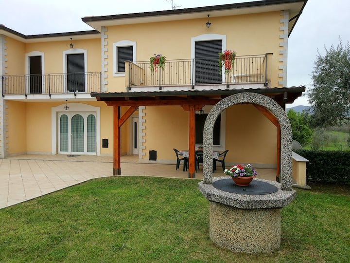 House with garden near San Donato Val di Comino