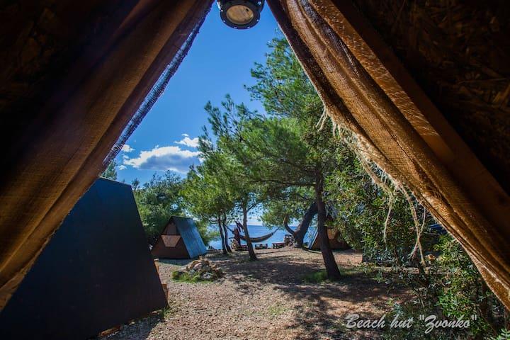 Beach Hut Zvonko (Garden view) + free shuttle