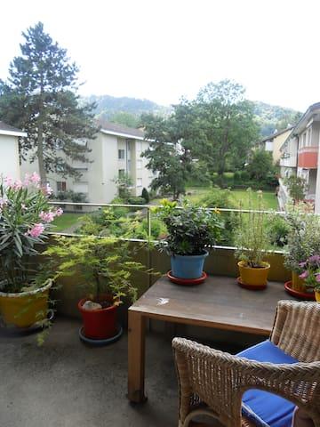 Ruhige 2-Zimmer-Wohnung - Zürih - Daire