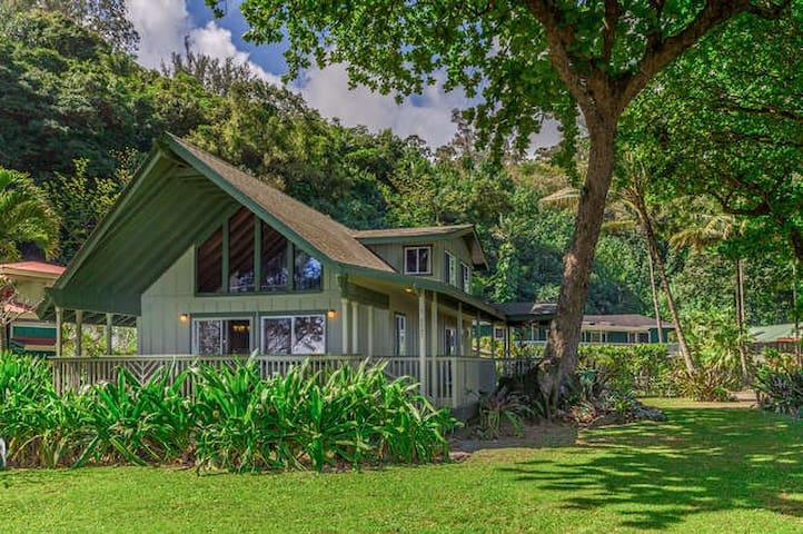Hale Kamapua'a-Relax to the sound of ocean waves! - Hanalei - House